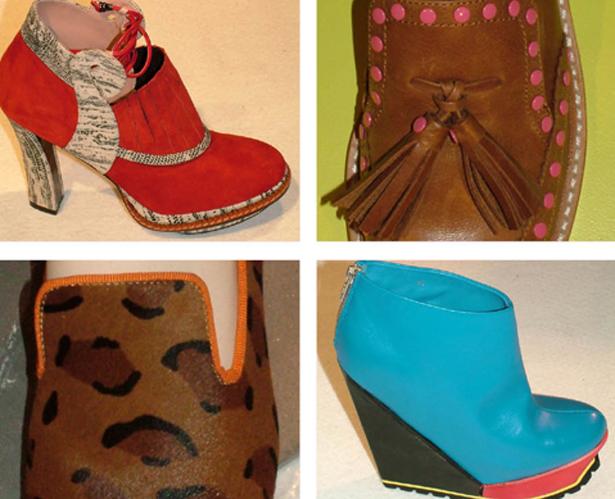 2012-2013秋冬女鞋流行趋势——巴黎Premiere Classe展会